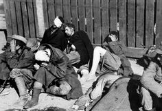 Severely wounded Polish insurgents are captured during the final days of the Warsaw Uprising. The Polish resistance Home Army (Polish: Armia Krajowa) fought a fierce and determined battle to liberate Warsaw which lasted 63 days with little outside support and was the largest single military effort taken by any European resistance movement during the war. Following the capitulation of the Poles on 2 October 1944, the Germans began to disarm the Home Army soldiers. They later sent 15,000 of…
