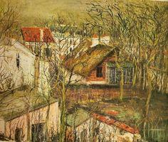 Maurice Utrillo La Maison de Berlioz 1917 env