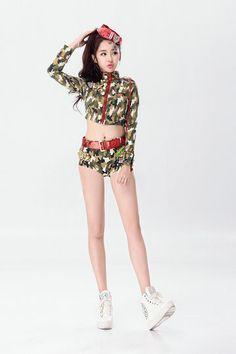 新作 海軍風 ナイトクラブ 迷彩 cosplay 制服 セクシー コスプレ衣装 舞台衣裳-Halloween-trw0725-0481…