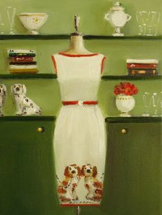 Janet Hill | Canadian Vintage Glamour painter