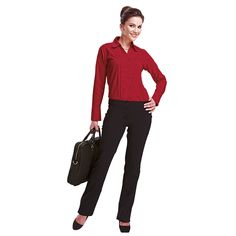 Ladies Statement Stretch Pants   Corporate Wear   Barron Band Outfits, Corporate Wear, Stretch Pants, Stretches, Lady, How To Wear, Style, Fashion, Swag
