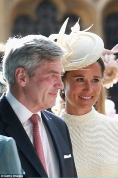 Pippa and Michael Middleton...