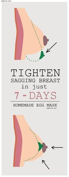 A Homemade Mask That Can Help to Lift Your Sagging Breasts in 7 days – 18aims