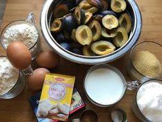 Fordított szilvás pite recept lépés 1 foto Pretzel Bites, Bread, Fruit, Recipes, Food, Rezepte, Essen, Breads, Baking