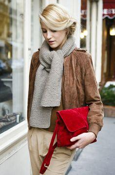 #sjaal #scarf #winter ♥ inspiratie - AUkO sjaals