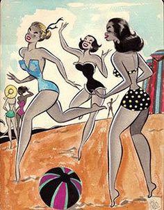 100 AÑOS DE HISTORIETA ARGENTINA – Parte 6   Comiqueando Online Female Cartoon, Pin Up Art, Illustration Girl, Old Pictures, Pin Up Girls, Art Inspo, Paper Dolls, Comic Art, Retro Vintage