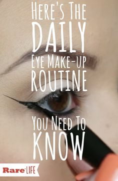 Here's the daily eye makeup routine you didn't know you needed