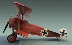 Fokker Dr.I / Rittmeister Manfred von Richthofen http://www.oldhangar.airart3d.com/?p=580