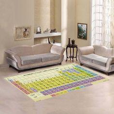38768774b8 Periodic Table Style Rug Sun Mandala