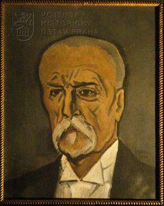 Jaroslav Riedl, Tomáš Garrigue Masaryk Painters, Portraits, Art, Craft Art, Head Shots, Kunst, Portrait Paintings, Portrait Photography