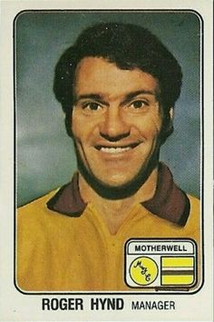 Motherwell manager Roger Hynd in 1970s, Management, Football, Baseball Cards, Sports, Soccer, Hs Sports, Futbol, American Football