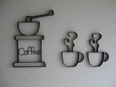 Hey, I found this really awesome Etsy listing at http://www.etsy.com/listing/72895782/coffee-grinder-with-cups-metal-wall-art