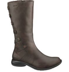 These boots rock!  Very comfortable, waterproof, and warm.  They also fit my fat calves. :)