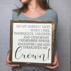 """4,687 Likes, 294 Comments - Kristy & Kelsey (@thepaintednest) on Instagram: """"Good morning!! Remember to straighten that crown today!! You ARE enough, you ARE loved, and you ARE…"""""""