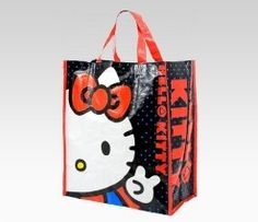 An image of Hello Kitty Shopping Tote: Peace