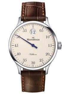 MeisterSinger | Salthora elfenbein | Edelstahl | Uhren-Datenbank watchtime.net