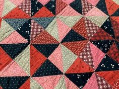 Picture 4 of 7 Crib Quilts, Pa C, Square Quilt, Hand Stitching, Cribs, Blanket, Antiques, Cots, Antiquities