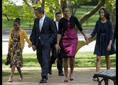 The Obama's March 2012