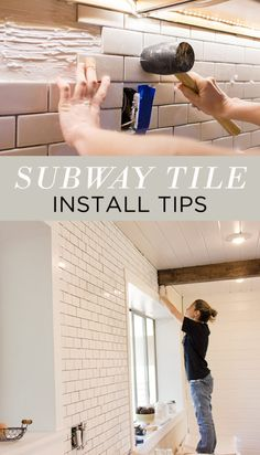 Tips from my first experience with Subway Tile