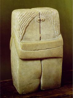 Happy Valentine Day for all the lovers all over the world! Constantin Brancusi - The Kiss / The Kiss (1916)  Philadelphia Museum of Art, USA    Brâncuşi (1876-1957), Romanian sculptor and Parisian by adoption, he created several versions of the Kiss over the years, including one at Montparnasse Cemetery in Paris, where the sculptor now rests.