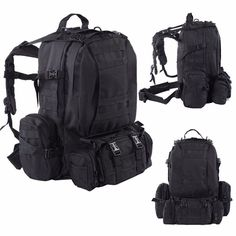 Just in: 55L Heavy Duty Tactical Backpack Black http://k13products.com/products/55l-heavy-duty-tactical-backpack-black?utm_campaign=crowdfire&utm_content=crowdfire&utm_medium=social&utm_source=pinterest