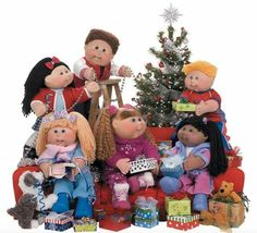 Merry Christmas from the Cabbage Patch Kids! Muñecas Cabbage, Cabbage Dolls, Cabbage Patch Kids Clothes, Cabbage Patch Kids Dolls, 80s Kids, Kids Girls, Baby Kids, Boys, Childhood Toys