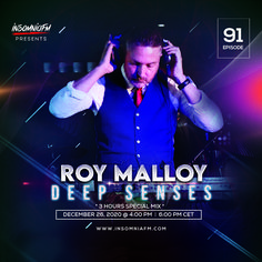Roy Malloy - Deep Senses 091 (End of the Year Compilation) on Insomniafm - December 2020 Last Night On Earth, Another Earth, Light Music, Dance Music, December, Passion, Deep, Ballroom Dance Music