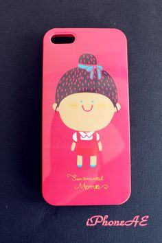 iPhone5/5s Little girl cartoon soft rubber case shop at www.etsy.com/shop/iphoneae
