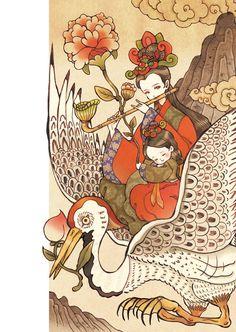 두루미의 이름은 울음소리에서 유래된 순우리말로서 '뚜루루루~, 뚜루루루~'라고 울어서 두루미라 부르게 되었다. 분포지역은 한국, 일본, 중국, 시베리아. 한국에는 예로부터 10월 하순부터 수천 마리의 두루미떼가 찾아와 겨울을 났었으나 지금은 수가 줄어 천연기념물 제202호로 지정됐다.