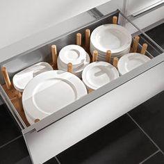 Modern Kitchen Cabinets Plate drawer