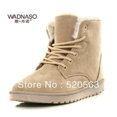 2014 new women sport shoes Fashion star street platform snow boots martin boots lacing classic boots cotton boots $86.70