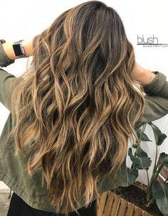Long Wavy V-cut Haircut For Thick Hair - June 09 2019 at Haircuts For Long Hair With Layers, Haircuts For Wavy Hair, Haircut For Thick Hair, Long Wavy Hairstyles, Hairstyles 2016, Layers For Thick Hair, Long Hairstyle, Popular Hairstyles, Wavy Haircuts Medium