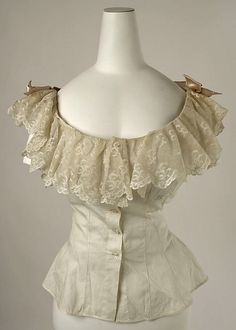 Corset Cover ca. 1894, American or European, manufactured by B. Altmand & Co. (American, 1865-1990)