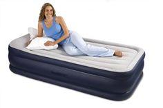 Intex Deluxe Pillow Rest Rising Comfort Twin - http://www.campingandsleepingbags.com/intex-deluxe-pillow-rest-rising-comfort-twin/