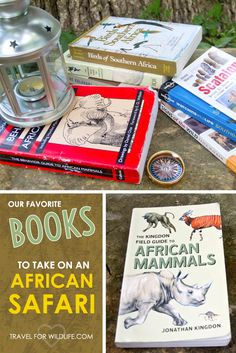 These are the books we always take with us when we go to Africa. Yes, they're heavy, but totally worth it. Read our official list of books to take on an African safari! via @travel4wildlife
