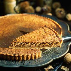 Découvrez la recette Tarte aux noix sur cuisineactuelle.fr.