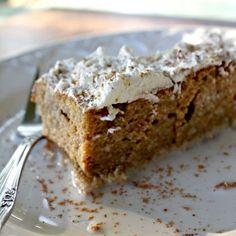 Pumpkin Tres Leches Cake @Rachel Harrington my regular tres leches is delish.... Now THIS has pumpkin!!! Nom nom nom