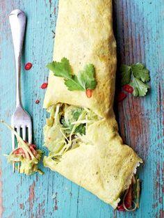 Jamie Oliver- Gefülltes mexikanisches Omelett