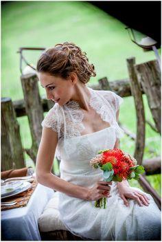 French wedding dress summer | Image by Ludivine B