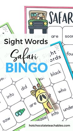High frequency sight word bingo game featuring 48 words from the Primer word list. Print off these Bingo boards and use them with your emerging Kindergarten through 1st grade readers. Vocabulary Games, Grammar And Vocabulary, English Vocabulary, Icebreaker Activities, Sight Word Activities, Sight Word Bingo, Sight Words, Back To School Activities, School Ideas