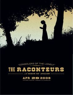 the raconteurs gig posters