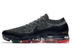 c44aa35c4cb Nike Air Vapormax Flyknit BHM AQ0924-007 Chaussures Nike 2018 Pas Cher Pour  Homme Noir