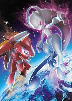 Genesect and Mega Mewtwo Y