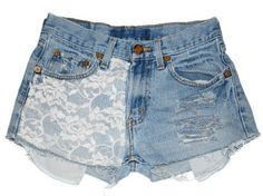 Women's Lace Marilyn Low Rise Gap Jeans Cutoff Denim Jean Shorts Ripped-L Lace Jean Shorts, Denim Cutoff Shorts, Denim Jeans, Waisted Denim, Women's Shorts, Short Shorts, Vintage High Waisted Shorts, Cut Off Jeans, Gap Jeans