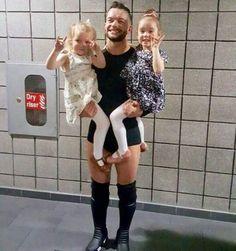 Finn Balor & Family