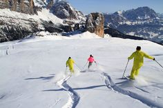 Top skiing in Europe- The Alps of Italy, Austria, Switzerland, France http://www.theluxuryvacationguide.com/ski-destinations/europe/