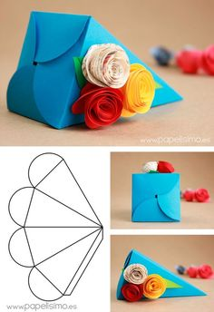 Mug Box – structural packaging design dielinesfolding boxes: origami books - crafts ideas - crafts for kidsPedestal Box - Packaging & Dielines: The Designer's Book of Packaging DielinesFree Printable - Origami Crystal Box + Tutorial, 9 free printab Diy Paper Bag, Paper Gift Box, Paper Gifts, Diy Gift Box, Diy Box, Diy Gifts, Gift Boxes, Favour Boxes, Diy Origami