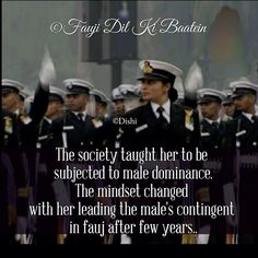 but today i changed the gender Army Women Quotes, Indian Army Quotes, Military Quotes, Good Thoughts Quotes, Positive Quotes For Life, Unique Quotes, Inspirational Quotes, Motivational, Soldier Love Quotes