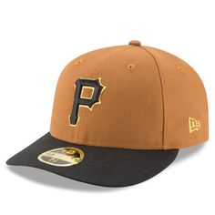 Pittsburgh Pirates New Era Alternate 3 Authentic Collection On-Field Low Profile 59FIFTY Fitted Hat - Gold/Black - $34.99