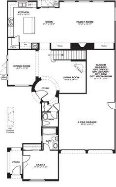 Vista West Ravenwood Model Home Kitchen Fort Worth TX by K